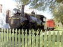 Historic Pensacola Village Train From 1800's